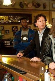 Leverage Season 2 Episode 11. To save the bar in Nathan's building from being lost to an avaricious loan shark, the team tries an old-school con.