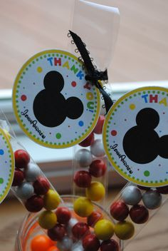 NEW - Mickey Mouse Candy Treat Bag Party Favors