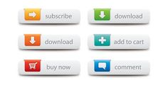 web-buttons-vector-graphic