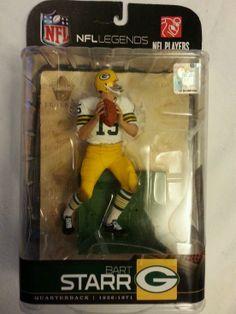 Bart Starr Green Bay Packers McFarlane Variant White Jersey