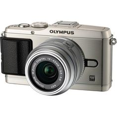 Olympus PEN E-P3 12 MP Live MOS Interchangeable Lens Camera with 14-42mm Zoom Lens (Silver)