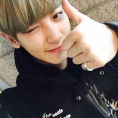 "150405 Chanyeol ig update // Chanyeol thanks fans for EXO's first win with ""Call Me Baby"" Exo Chanyeol, Sehun And Luhan, Kaisoo, Chanbaek Fanart, Wattpad, Kpop Quiz, Selca, Xiuchen, Exo Korean"