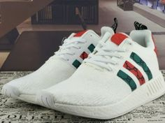 3fa795bf5c89a Cheap Adidas NMD R2 GUCCI Unisex Boost White Discount Only Price  60 To  Worldwide and Free Shipping WhatsApp 8613328373859