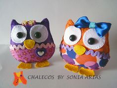Owls... with personality