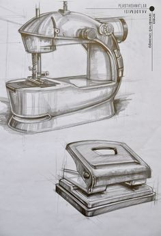 Drawing Realistic Objects Still Life - Drawing Still Life Sketch, Still Life Drawing, Pencil Art Drawings, Drawing Sketches, Drawing Ideas, Architecture Sketchbook, Object Drawing, Industrial Design Sketch, Figure Sketching