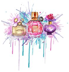 Ideas for fashion illustration makeup marc jacobs Makeup Illustration, Illustration Mode, Watercolor Illustration, Watercolor Art, Balloon Illustration, Perfume Arte, Perfume Bottles, Perfume Logo, Boutique Parfum