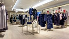 Jacques Vert Store by Global Display at Birmingham Grand Central, Birmingham – UK » Retail Design Blog