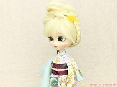 ジェニー 振袖、momoko 振袖,Pullip kimono,プーリップ 振袖