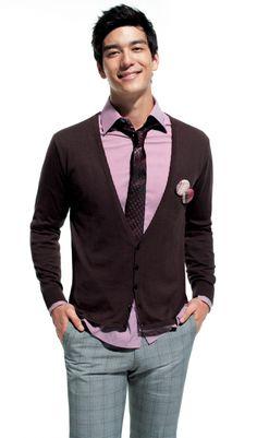 Dennis Oh...men's fashion Dennis Oh, Dapper, Sexy Men, Gentleman, Dressing, Menswear, Celebs, Blazer, My Style