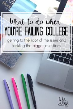 Are you frustrated that you've tried everything and you're still failing college? Here are 5 questions to ask yourself to help you get back on track!