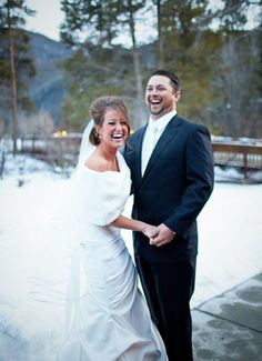 Rustic Winter Wedding In Illinois