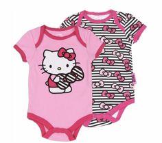 Baby Girl Hello Kitty Creeper Set