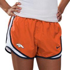 Denver Broncos Women's Navy Nike Dri-Fit NFL Tempo Short $35.99 http://www.fansedge.com/Denver-Broncos-Womens-Navy-Nike-Dri-Fit-NFL-Tempo-Short-_1645631567_PD.html?social=pinterest_pfid22-19576