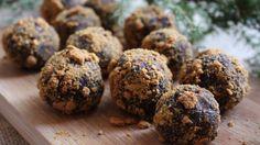 Härliga chokladbollar med pepparkaksdumle - Mitt kök