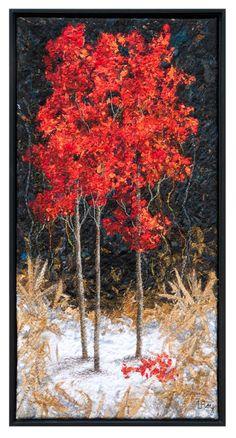 Beautiful fibre art Dundas Studio Tour « Lorraine Roy Art Textiles