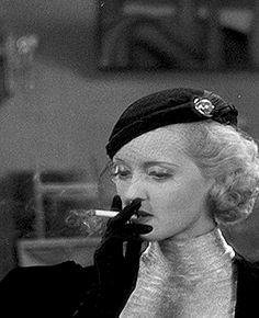 A blonde Bette Davis, Prosperity is just around the corner.