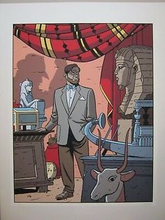 Ex Libris, Ted Benoit, Ligne Claire, Comic Artist, Family Guy, Comics, Illustration, Fictional Characters, Rasputin