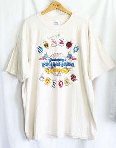 Dennis Biddle Signed T Shirt Size XL Negro League Baseball Autographed Cotton  #Gildan