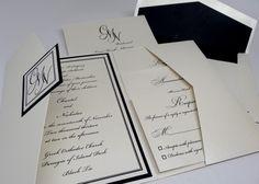 Classy & Elegant Wedding Invitation