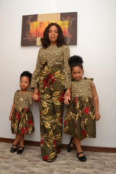 Ankara Kiddie Dress/ African Inspired/ Girl's Dress/ Quality fabric/ Good Finishing/ Made In Nigeria/ African Kid