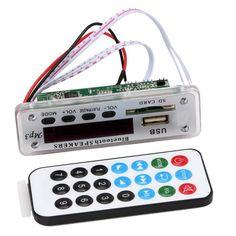 1 PCS Integrated Wireless Bluetooth 12V 5V USB MP3 WMA Decoder Board Audio Module USB TF Radio For Car ZTV-M01BT Car-styling