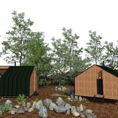 Cabañas entre castaños casas de estilo escandinavo de estudio bao arquitectura escandinavo   homify