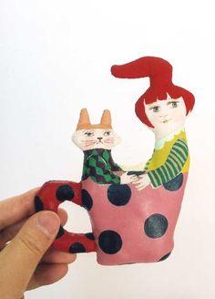 Maker of dolls & illustrator, Ryoko Ishii
