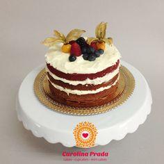 Mini Nacked Cake Red Velvet  .:. encomendas: carolina@carolinaprada.com.br