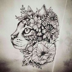 Horse instead of cat flowers include red poppy Lotus other tattoos (feather bre. - Horse instead of cat flowers include red poppy Lotus other tattoos (feather breath deeply etc)? Tattoo Trend, S Tattoo, Piercing Tattoo, Tattoo Drawings, Body Art Tattoos, New Tattoos, Piercings, Tatoos, Kitty Tattoos