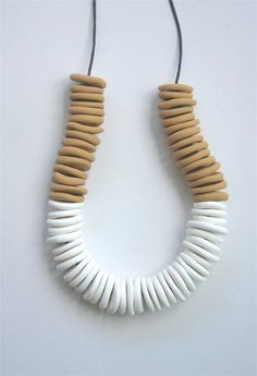 Layer Necklace White | Koki Designs | madeit.com.au