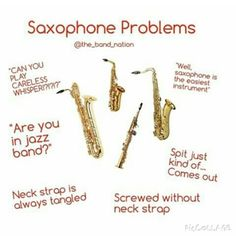 Saxophone  problems