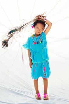 aqua blue ideal for summer, top mim-251, skirt mim-256