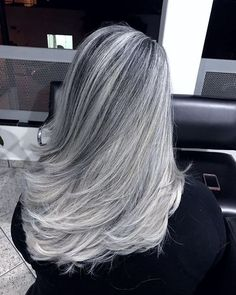 Gray Wigs Lace Frontal Wigs Beard Oil For Grey HairEmbracing Grey Hair – Aduatify Grey Hair Wig, Silver Grey Hair, Short Grey Hair, White Hair, Lace Hair, Affordable Human Hair Wigs, Grey Hair Inspiration, Gray Hair Highlights, Silky Hair