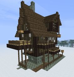 Medieval/Fantasy building bundle - now with MCedit Schematic Minecraft Project