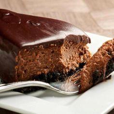 Chocolate Fudge Cheesecake Recipe from The Bakers Dozen