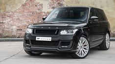 A Kahn Design Range Rover 3.0 TDV6 Vogue Signature Edition Check out this and more at http://www.motoringexposure.com/aftermarket-tuned/ #cars #luxury #suvs