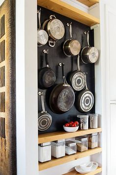 Smart 30 DIY Kitchen Storage Solutions For Your Small Kitchen - Organization ideas for the home clutter - Small Kitchen Solutions, Small Kitchen Storage, Smart Kitchen, Kitchen Organization, New Kitchen, Organization Ideas, Kitchen Pantry, Kitchen Drawers, Kitchen Small