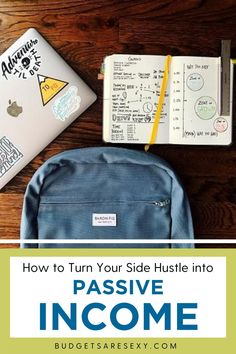 Looking to turn your side hustle into a passive income? Check out these tips and make money today. | Budgets Are Sexy Make Money Today, How To Make Money, Office Politics, People Online, Part Time Jobs, Freshman Year, Early Retirement, Be Your Own Boss, Money Management