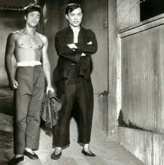 Bruce Lee with James Tien!