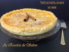 Tarte de Pastel de Nata na Yammi | As Receitas da Selene