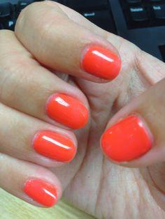 Tangerine on the rocks, Red Carpet Manicure