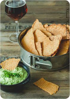 Käse-Bier-Cracker