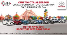 Welcome to the online home of CMH Toyota Alberton, where you will find the latest and best Toyota models as well as carefully selected used vehicles. Toyota, Free Cars, Car Wash, Driving Test, Cold Drinks, Cool Drinks