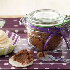 Holiday Butters Recipes from Taste of Home, including Mocha Cashew Butter Recipe.