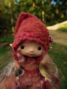 sweet tiny ooak posable 5 inch fairy fairie by throughthemagicdoor