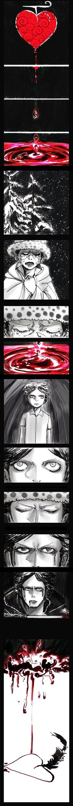 """The boys tears"" - Trafalgar D. Water Law One piece"