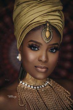 Nubian Themed Bridal Shower Inspiration for brides-to-be Black Girl Art, Black Women Art, Black Girl Magic, Dark Beauty, Ebony Beauty, African Beauty, African Women, African Fashion, My Black Is Beautiful