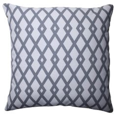 Pillow Perfect Graphic Graystone 16.5-inch Throw Pillow | Overstock.com Shopping - Great Deals on Pillow Perfect Throw Pillows