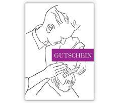 Blanko Gutschein Karte für den Friseur/ einen Haarschnitt - http://www.1agrusskarten.de/shop/blanko-gutschein-karte-fur-den-friseur-einen-haarschnitt-2/    00017_0_1093, Familie, Frisur, Grußkarte, Haare, Klappkarte, Sohn, Vater, Wellness00017_0_1093, Familie, Frisur, Grußkarte, Haare, Klappkarte, Sohn, Vater, Wellness