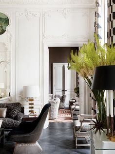 Beautiful stylish Parisian home decor @pattonmelo